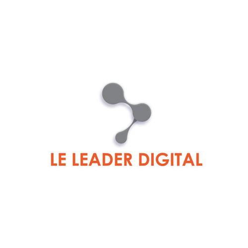 le leader digital logo