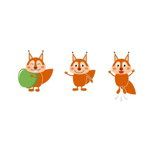Healthy Food Character Design