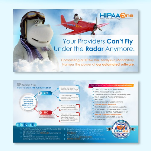 HIPAA One Promotional Design