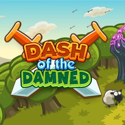 Conceito para game Logo