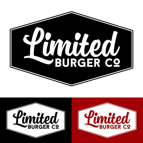50's inspired design entry for Limited Burger Company