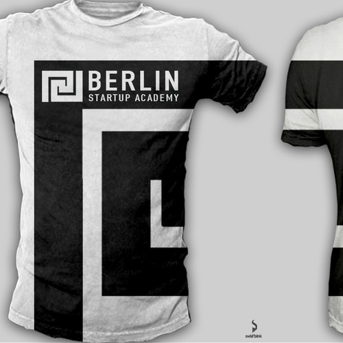 Make a start-up brand T-Shirt look like a kick-ass football shirt!