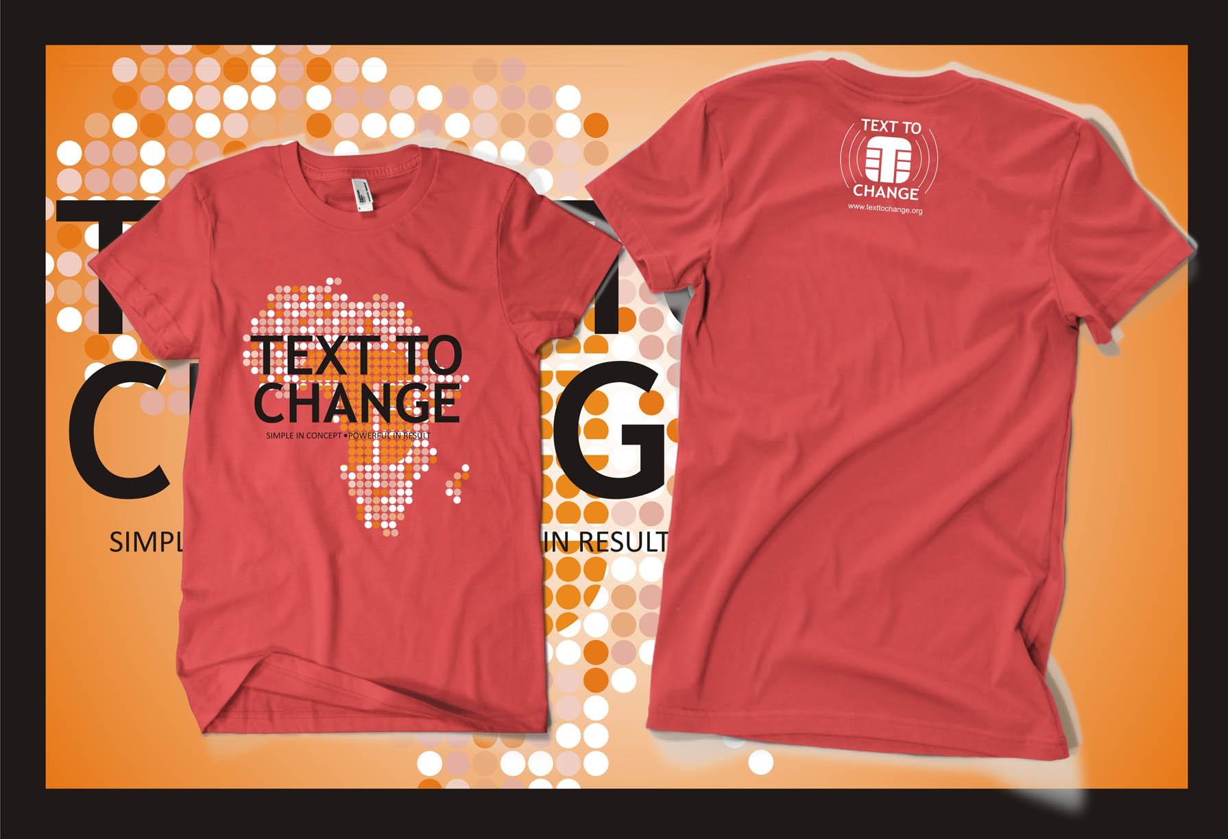 Text to Change  needs a new t-shirt design