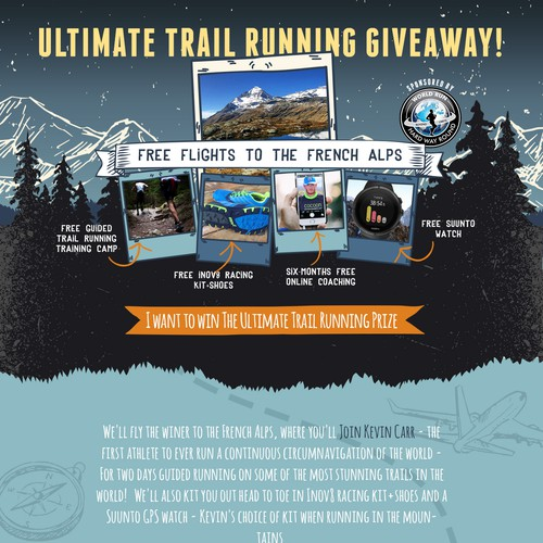Ultimate Trail Running Giveaway