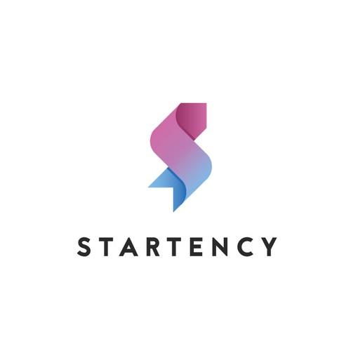 Modern, sophisticated logo design