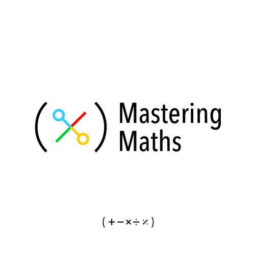 Logo concept of Mastering Maths