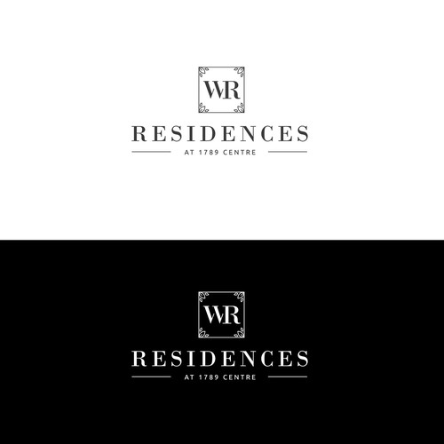 Logo design for a condominium building.