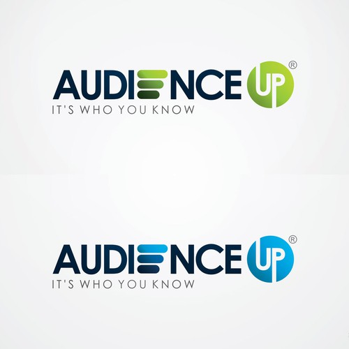 Logo for AudienceUp: A new web advertising startup