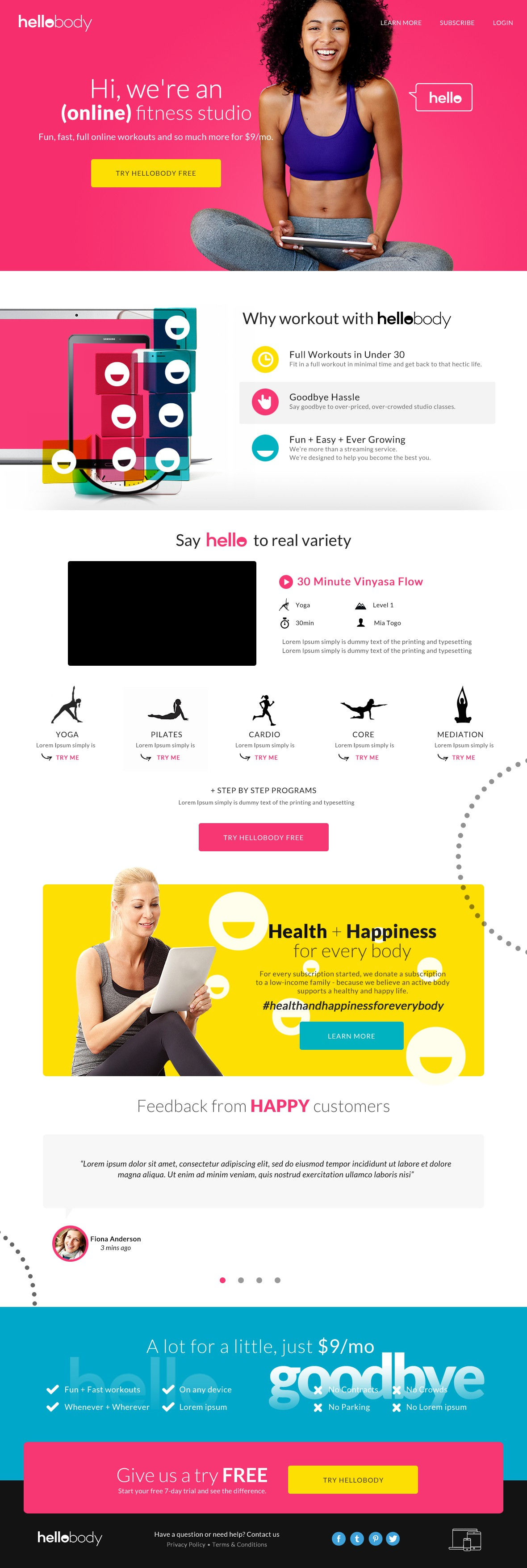 Help Start a Happy, Healthy Online Fitness Company!