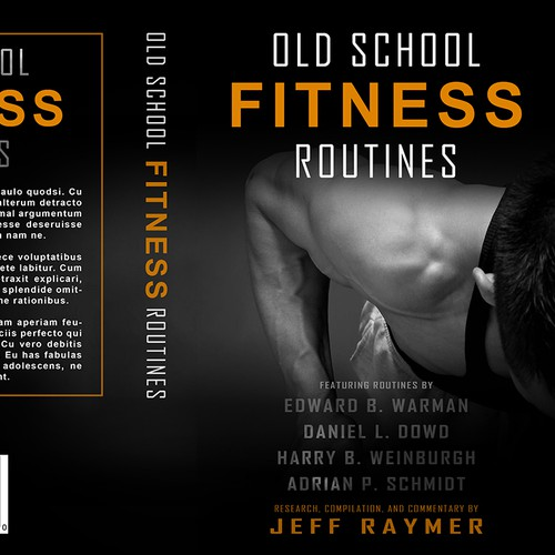 Old School Fitness Routines Book Cover