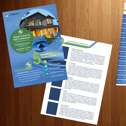 Green Homes Conference Brochure