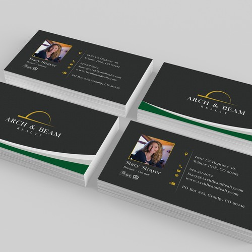 Arch & Beam Realty Business Card
