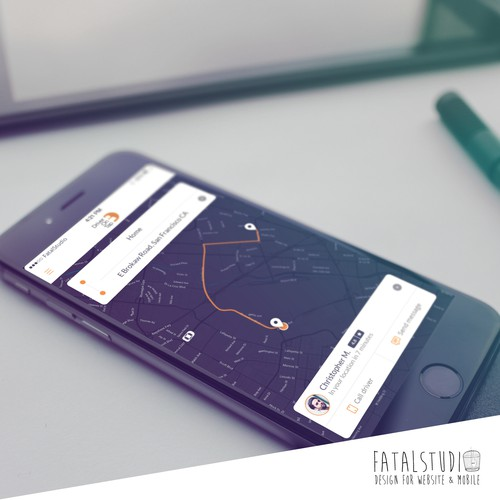 Drive On Tap App