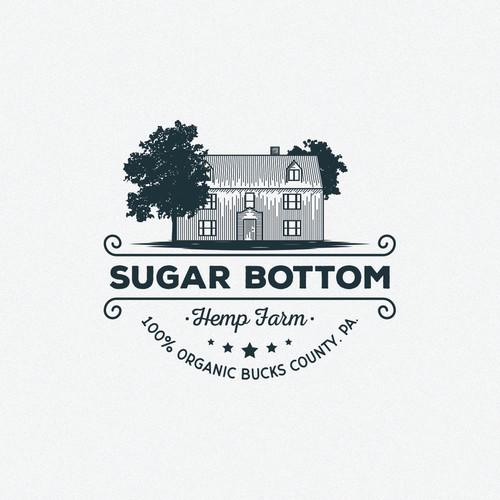 Sugar Bottom Vintage farm logo