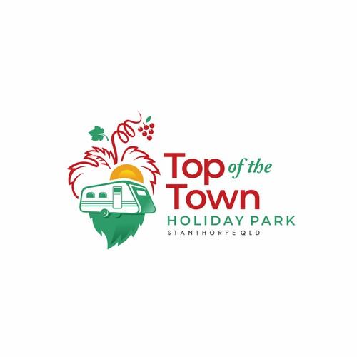 logo top town