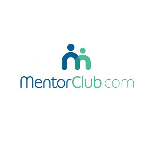 Logo design for a website that promotes mentoring