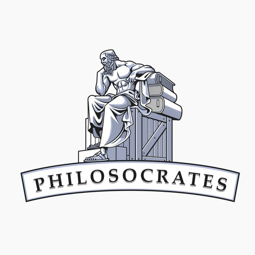 a logo to brand philosophy book business!