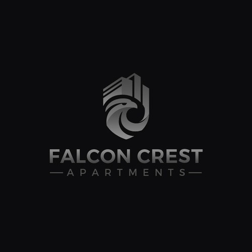 Logo proposal for Falcon Crest Apartments