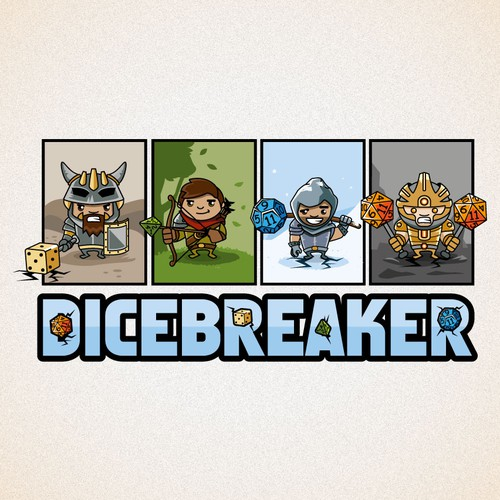 Board Gaming Website Dicebreaker.com Needs a Logo!