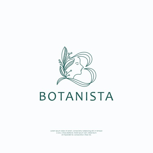 Logo concept for Botanista
