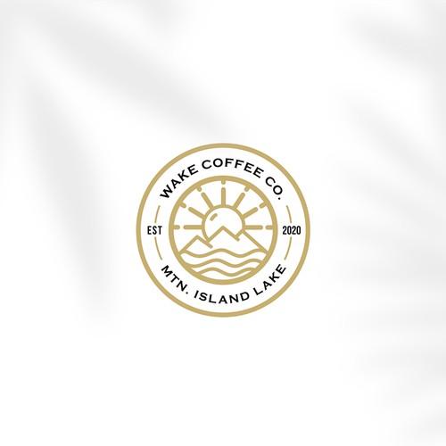 Wake Coffee Co. Logo