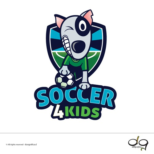 Logo design Soccer Camp 4 Kids