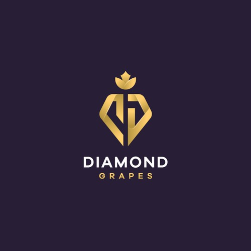 The iconic logo for a Diamond Grapes project