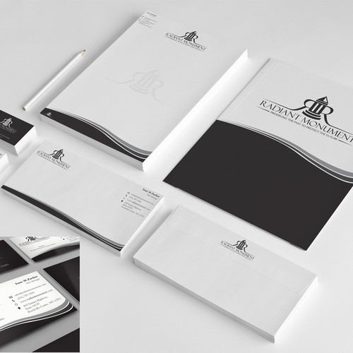 Radiant Monument Renewal & Restoration Services, Inc. needs a new stationery