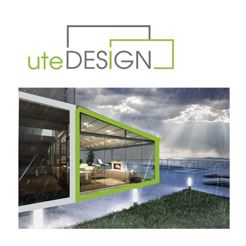 logo for utedesign (meaning: Outdoor Design)