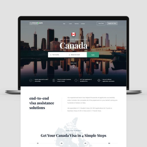 VisaTravel Website