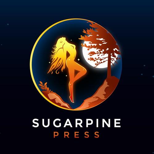 Sugar Pine Press Logo Illustration