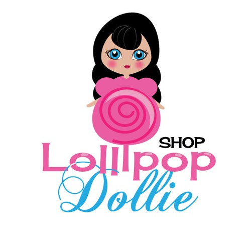 logo for Lollipop Dollie Shop