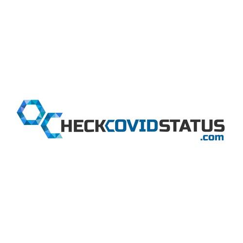 Logo for checkcovidstatus.com