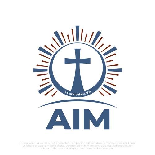 """Logo """"AIM"""""""
