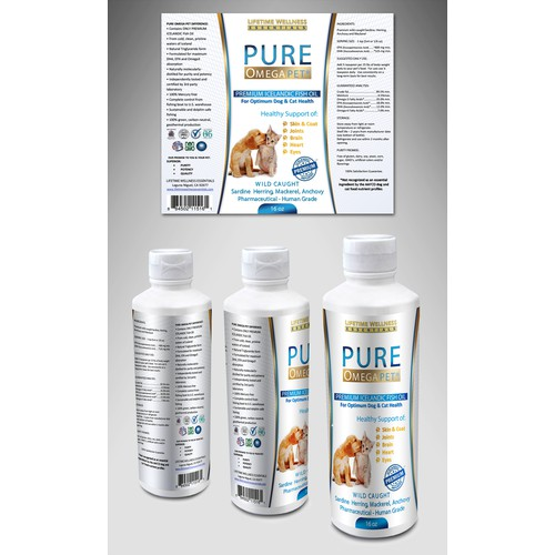 Guarenteed Winner!  Looking for an elegant label design for a premium pet health product