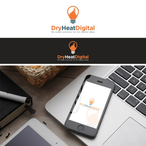 Clean logo for Dry Heat Digital
