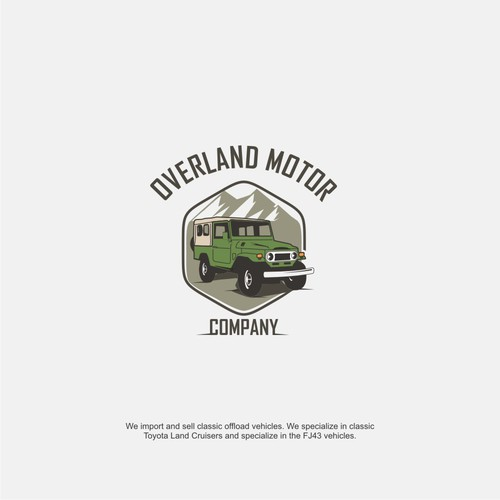 Logo design for Overland Motor Company