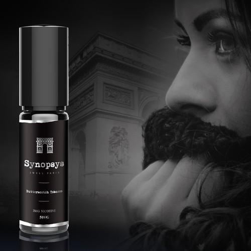 Premium Luxury & Classy Label Design for 'Synopsys' Paris