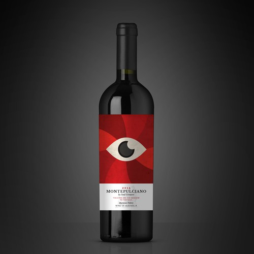 Montepulciano Wine Label by Soul Growers