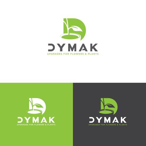 Bold logo for Dymak