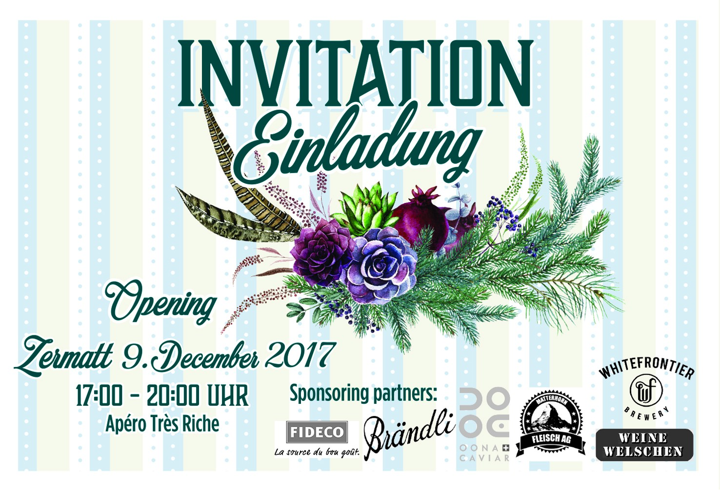 Invitation for Opening