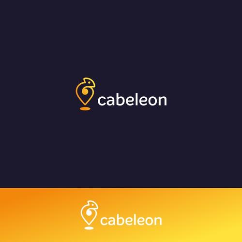 A concept logo for cab