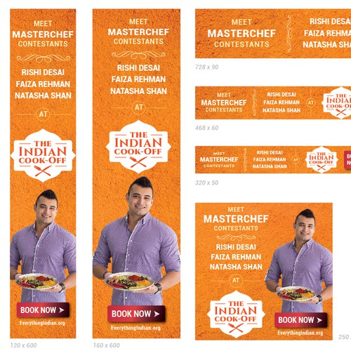 Banner Ad For The Great Indian Cook Off
