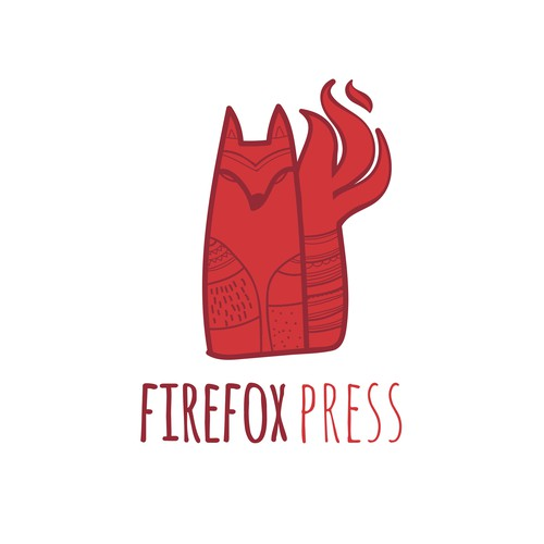 FireFox Press Logo Design