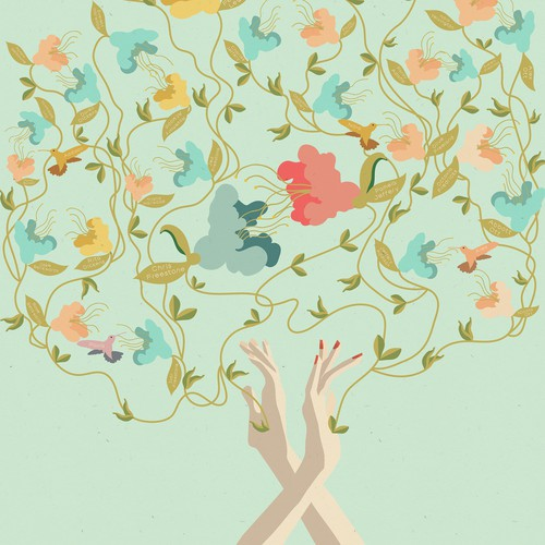 Charming Family Tree Design