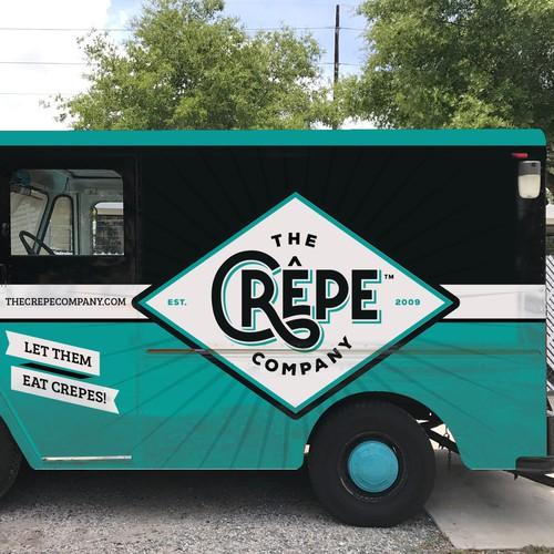 the crepe company food truck design