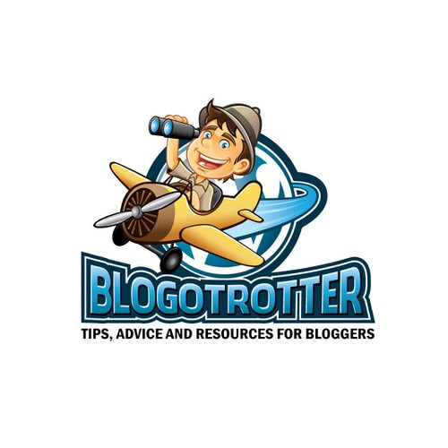 Character Logo for Blogotrotter.com - ***NOW GUARANTEED***