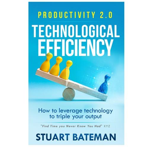 Productivity Book Cover Design