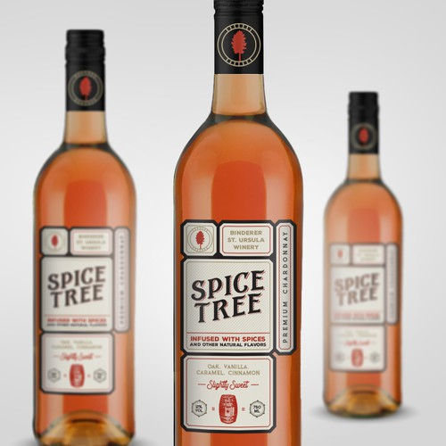 Label design for a spiced wine