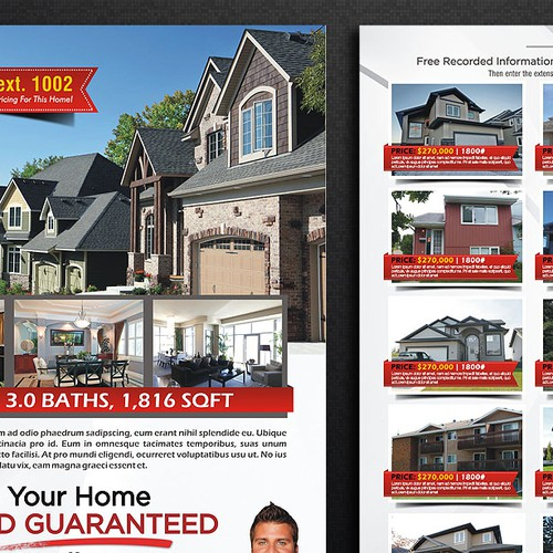 Real Estate Property Flyer
